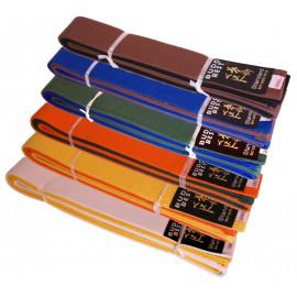 Centura Karate Bicoloră